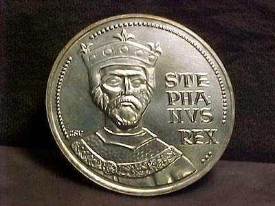 Hungary 100 Forint Silver Commemorative Crown Coin 1972 BU