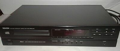 DENON DCD-615 CD Player PCM Audio Technology with Denon RC258 Universal Remote