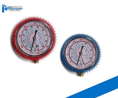 R410a -R22 -R134a REFRIGERATION MANIFOLD GAUGE SPARE HIGH & LOW AIR CONDITIONING