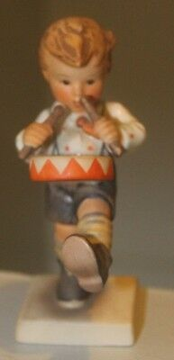 Hummel figurine #240 Drummer Boy 1960's  4 1/2 inches beautiful colors perfect
