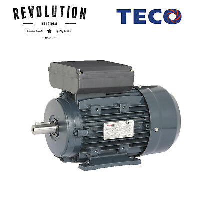 TECO Electric Motor 3 Kilowatt, 1400 rpm, Single Phase (240 volt), Foot mounted