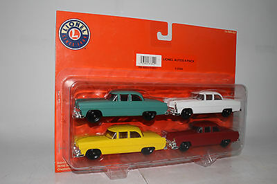 Lionel O Scale #6-37820 Auto Cars 4-Pack