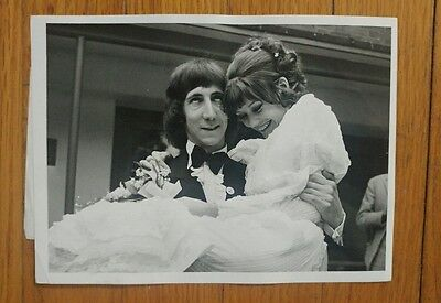 Vintage Photograph Pete Townsend Marries May 1968 The Who