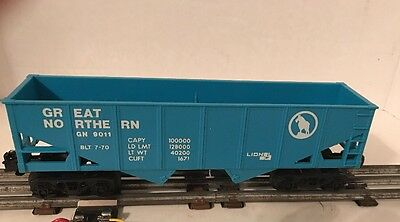 Vintage Lionel 9011 O Scale Great Northern Hopper Car GN 9011 BLT Train Car