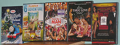 Lot Of 5 New Factory Sealed Dvds