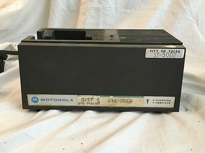 Motorola MX Single Radio Battery Charger NLN8858