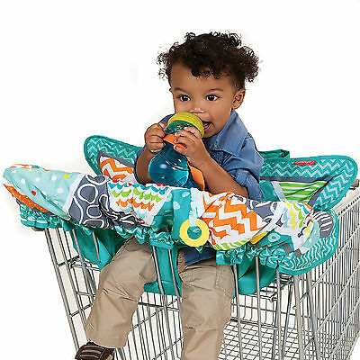 Baby Shopping Cart Covers High Chair Safety Harness Pockets Comfort Padding