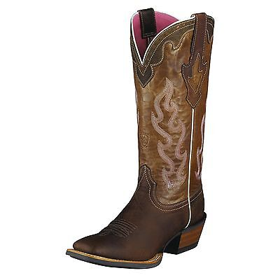 ARIAT - Women's Crossfire Caliente - Weathered Brown - ( 10004817 ) - 9.0B - New