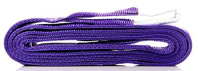New Flat Lifting Slings 1Tonne Rated 0.5M To 10M Long - Aus Standards Compliant