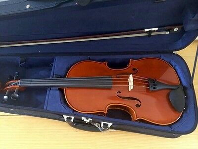 VIOLA 16 INCH + Bow + Case  Chamber Student 200 From Bows for Strings