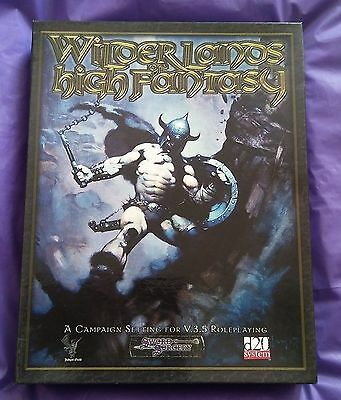 WW8364 Wilderlands of High Fantasy, d20 System, Necromancer Games, VGC