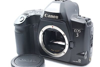 Canon EOS-3 35mm SLR Film Camera Body Only from Japan #219