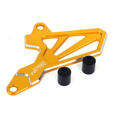 CNC Front Sprocket Cover Chain Guard Protector For Suzuki DRZ400S DRZ400SM 00-16