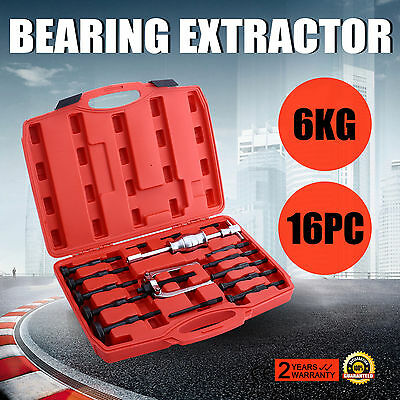 UK 16 Piece Bearing Extractor Set Internal Blind Remover Bushes Puller Pro