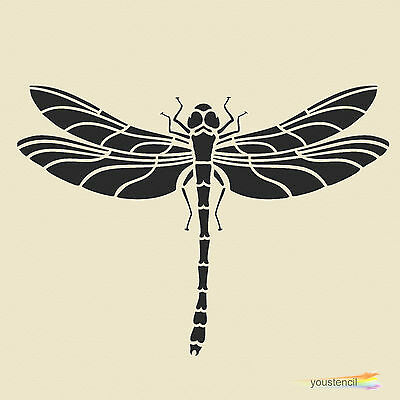 Dragonfly Stencil Template: Large:   Scrapbooking, Airbrushing, Art:    ST9A4