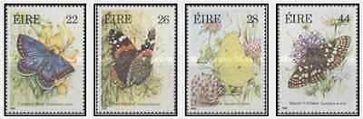 Timbres Papillons Irlande 562/5 ** lot 18664