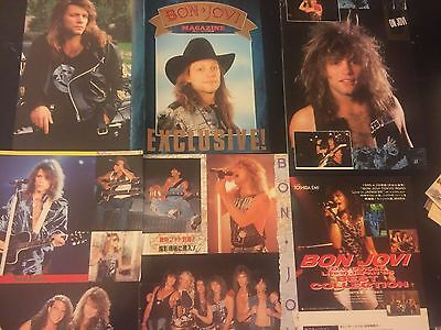 Bon Jovi!  Magazine clippings/cuttings of Jon Bon Jovi, Ritchie Sambora and more