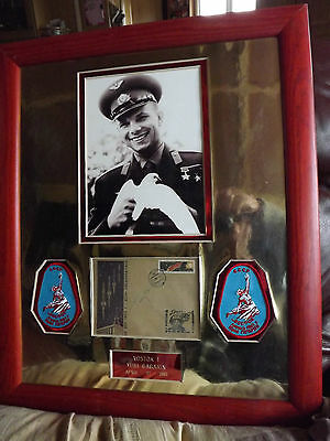 Yuri Gagarin - First Man Into Space - Signed First Day Cover 2Nd Anniversary