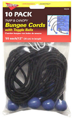 HAMPTON PRODUCTS-KEEPER - 12-Inch Bungee Ball Cord, 10 Pack