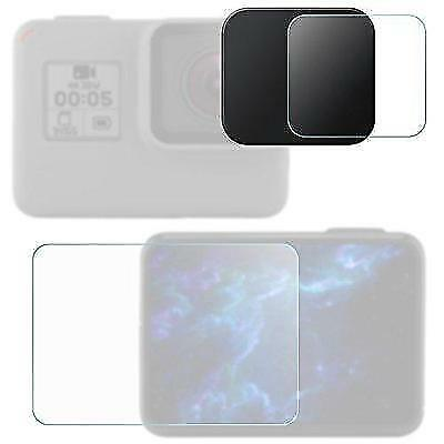 Lens & Screen Protectors for GoPro Hero5 Black Sport Camera with Lens Cap, New