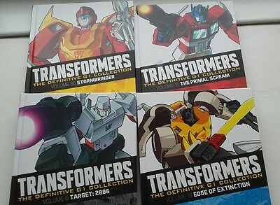 Transformers Generation 1 graphic novel collection issues 1-4