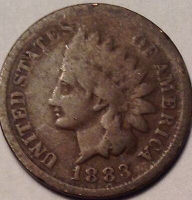 1883 Usa Indian Head Small Penny !