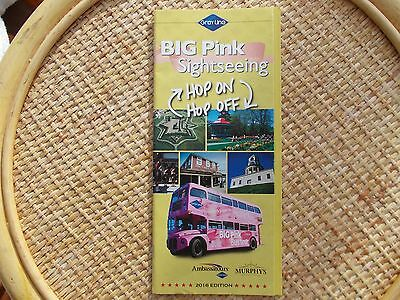 Halifax Gray Line Big Pink Sightseeing timetable & guide booklet 2016