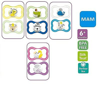Mam Air 6+Months Soother 2 pack