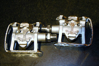 Shimano Pedals PD-M324 for MTB Road Cyclocross Commuter Bike