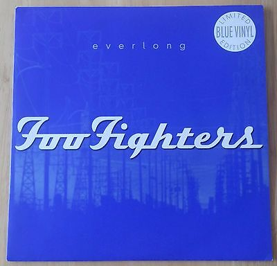 Foo Fighters. Everlong. Liimited Blue 1997 UK Vinyl 7'' Roswell CL792 Dave Grohl