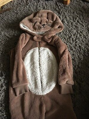 Baby Onesie All In One Pyjamas Mouse 12-18 Months