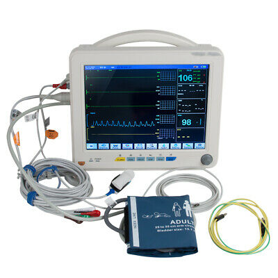 Medical Patientenmonitor 6 Parameter Patient Monitor NIBP/SPO2/ECG/TEMP/RESP/PR