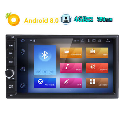 "Quad Core Android 5.13G WIFI 7"" 2DIN Car Radio Stereo DVD Player GPS Nav DAB OBD"