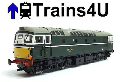 Heljan 2607 Class 26 BR Green Small Yellow Ends D5332  (OO) Boxed 23781