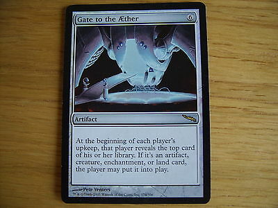 MtG Gate to the Aether FOIL Magic the Gathering Mirrodin CCG