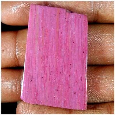 102.95Cts. NATURAL WONDERFUL PINK CALCY SLAB POLISHED ROUGH TOP LOOSE GEMSTONES