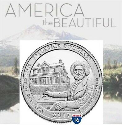 Frederick Douglass National Park Quarter 2017 D & P Mint