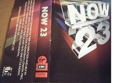 Various Artists - Now That's What I Call Music 23 (2 Cassette Set 1992) Exc +