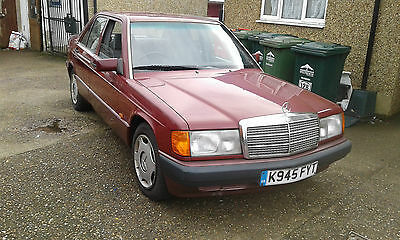 1992/k Mercedes 190E Red Low Mileage Absolutely Original