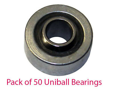 Pack of 50 x 8mm Steering Column Bearings 8mm x 22mm x 9mm