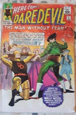 DAREDEVIL #5 Silver Age Marvel Comics 1964 Low Grade P