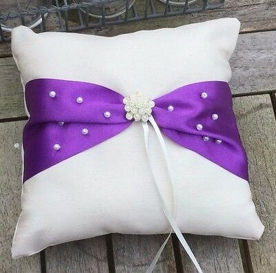 Wedding Ring Bearer Cushion