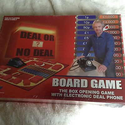 deal or no deal board game new unwrapped