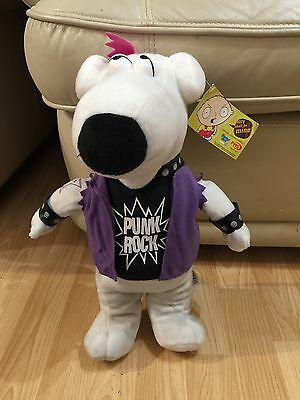 Brian Griffin punk rock teddy - from family guy