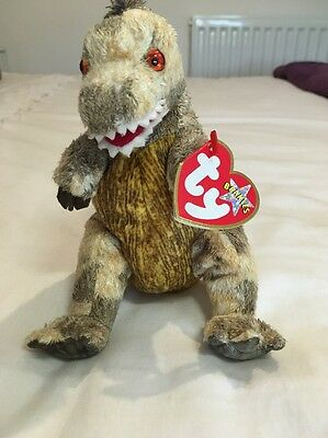 Ty Beanie Baby Toothy With Tag