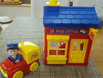 ELC Happyland Post office with noises, car and postman