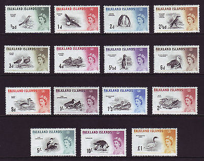 FALKLAND ISLANDS. SG 193-207, 1/2d to £1. UNMOUNTED MINT.