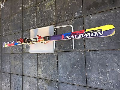 Salomon Giant Slalom Skis - 185 - Factory World Cup FIS. Incl. World Cup Binding