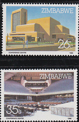Zimbabwe 1986 - Harare Conference Centre - complete mint set