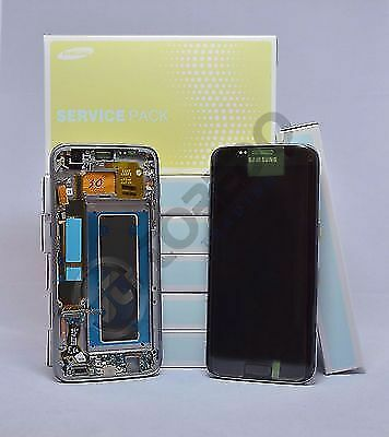 ORIGINAL Samsung Galaxy S7 Edge SM-G935F TOUCH SCREEN DISPLAY LCD Schwarz Black